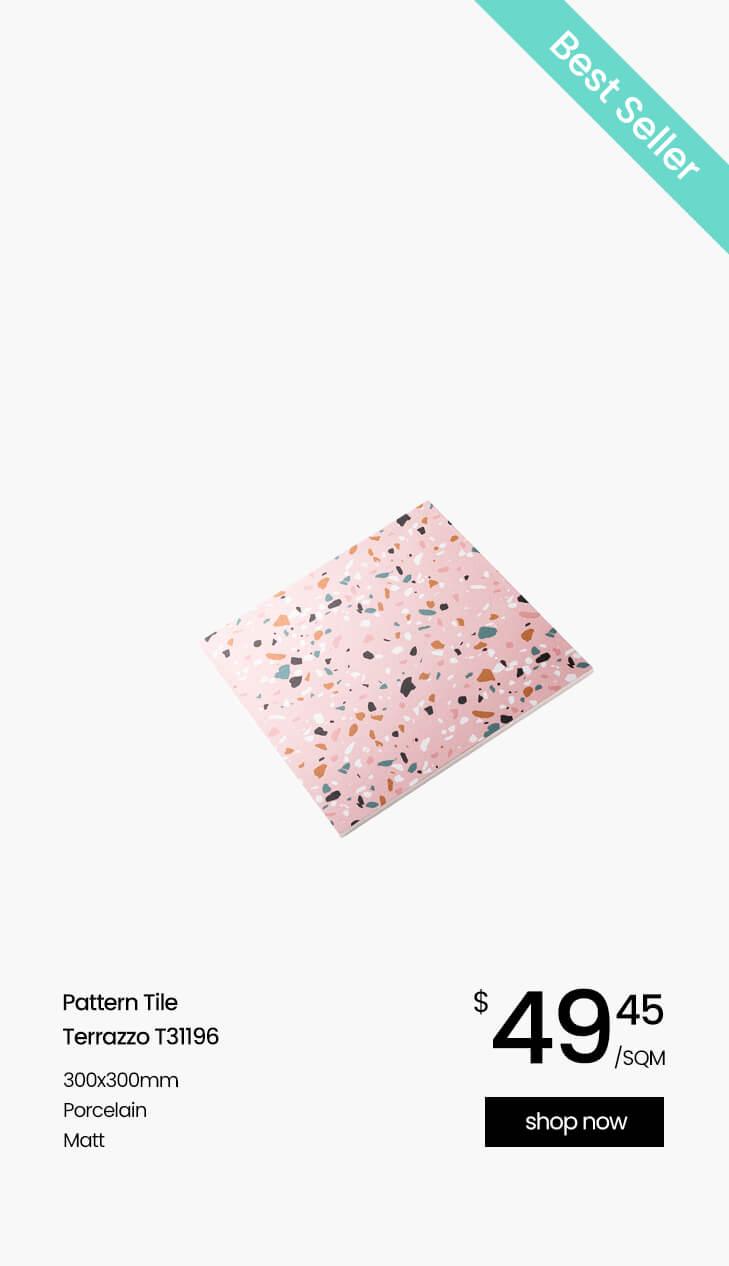 Pink Pattern Terrazzo T31196