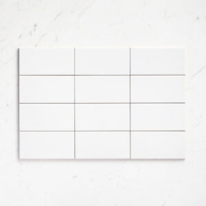 Ceramics Flat Tile 100X200 Gloss White
