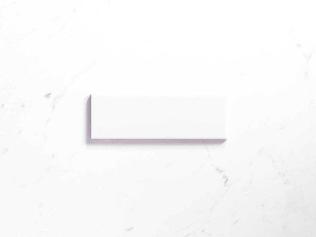 Ceramics Flat Tile 100X300 Gloss White