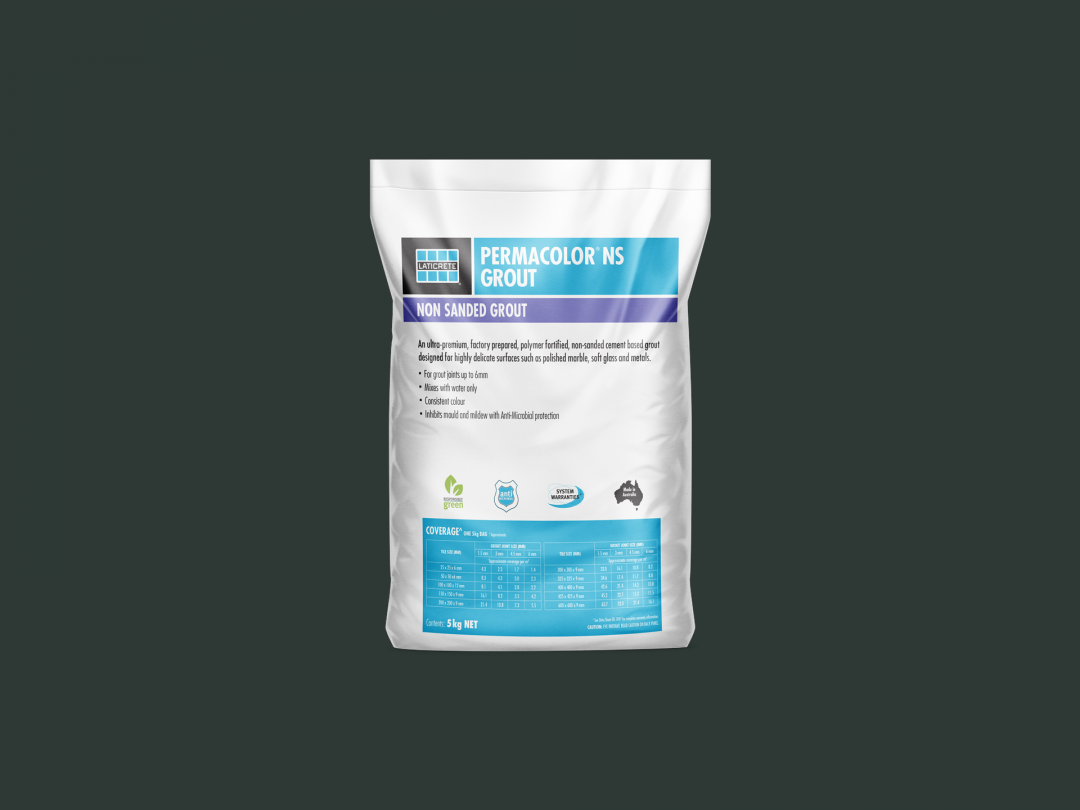 Laticrete  Permacolor Ns (Non Sanded ) Grout  5Kg 22 - Midnight Black