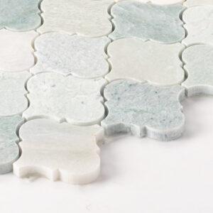 Natural Marble Mosaic Baroque 75X75 Minggreen Honed