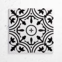 Pattern Tile Modern Black & White 2502 200X200 Matt