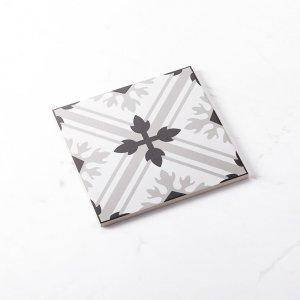 Pattern Tile Modern Black & White 2625 200X200 Matt