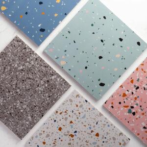 Pattern Tile Terrazzo Series T31253 300X300 Matt