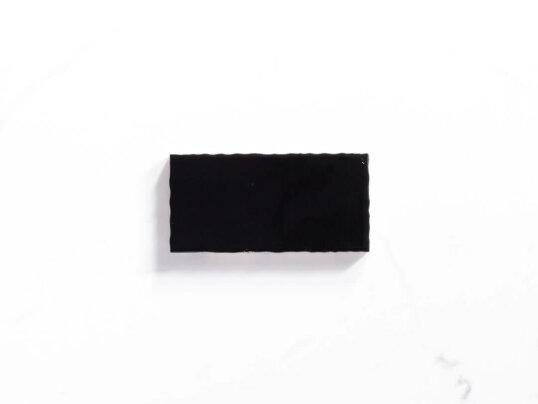 Ceramics Wave Tile 75X150 Gloss Black Sample