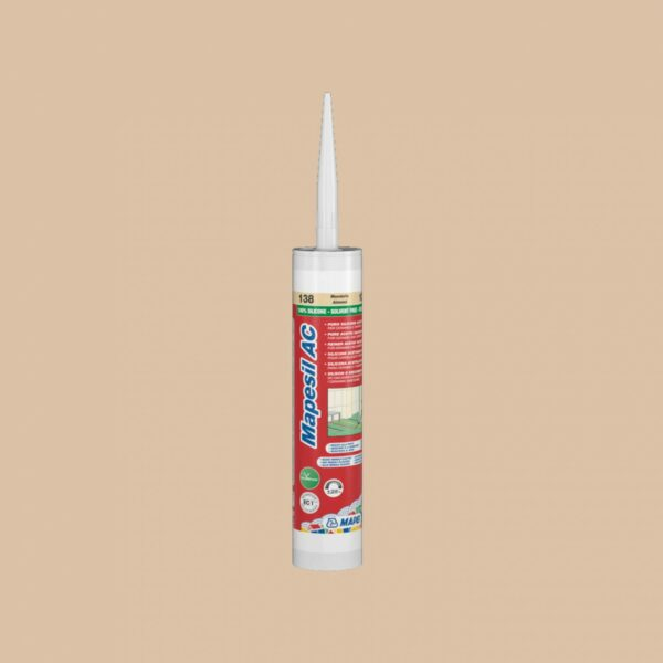 Mapei Silicone AC 138 310ml Almond
