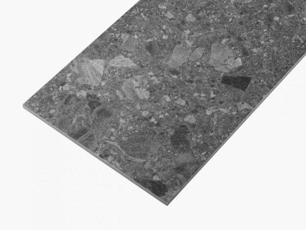 Big Terrazzo 600×300 Matt Dark Grey_edge