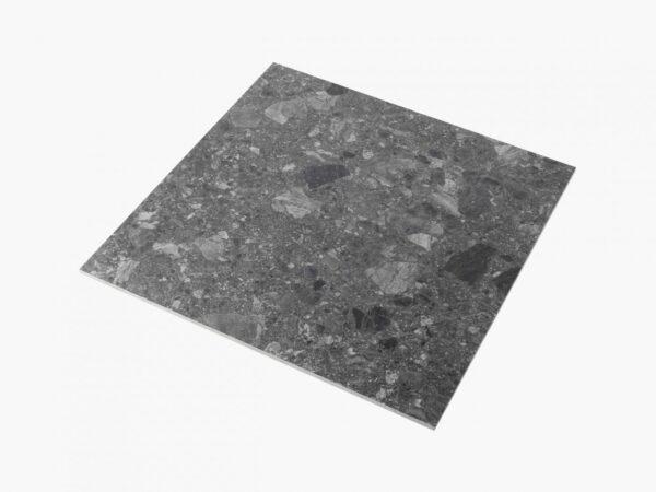 Big Terrazzo 600×600 Matt Dark Grey