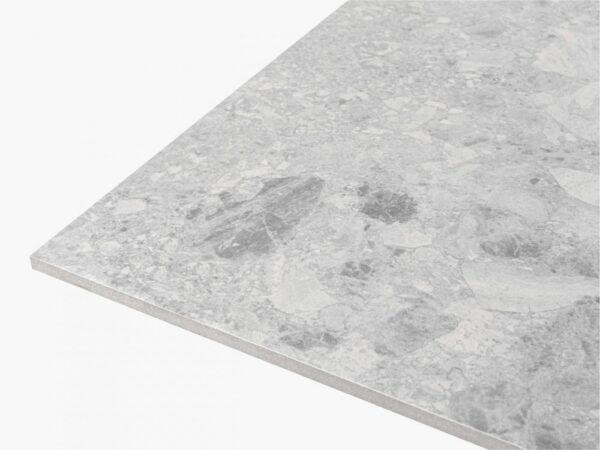 Big Terrazzo 600×600 Matt Light Grey