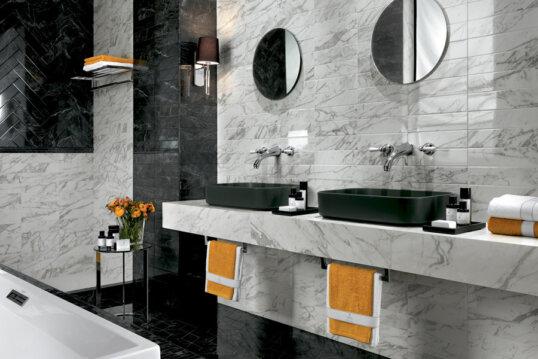 Brick Atelier 315x80  Gloss Noir Sample