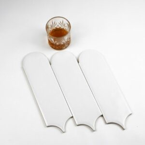 Ceramics Feather 90x300 Matt White