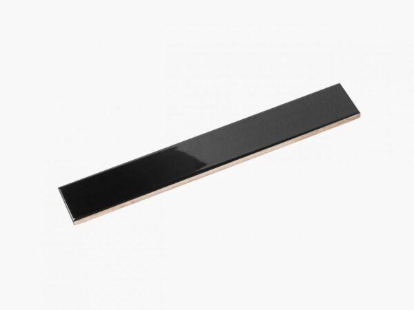 Ceramics Flat Tile 60×400 Gloss Black_eccom