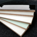 Ceramics Flat Tile 60x400 Gloss White