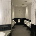 Ceramics Flat Tile 60x400 Gloss Black