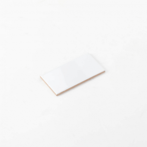 Ceramics Flat Tile 75X150 Gloss White
