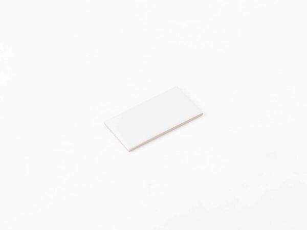Ceramics Flat Tile 75X150 Matt White