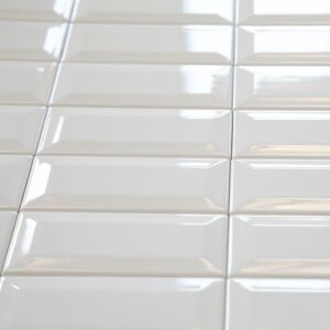 Ceramics Subway Tile 75X150 Gloss White