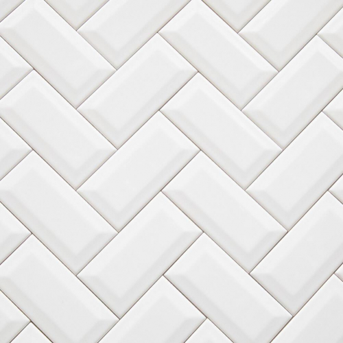 Ceramics Subway Tile 75X150 Matt White