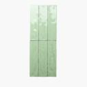 Ceramics Wave Mould Tile 75×300 Gloss Light Green