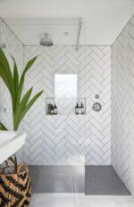 Ceramics Flat Tile 100X300 Matt White