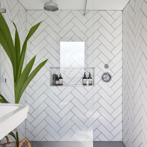 Ceramics Flat Tile 100X300 Matt White