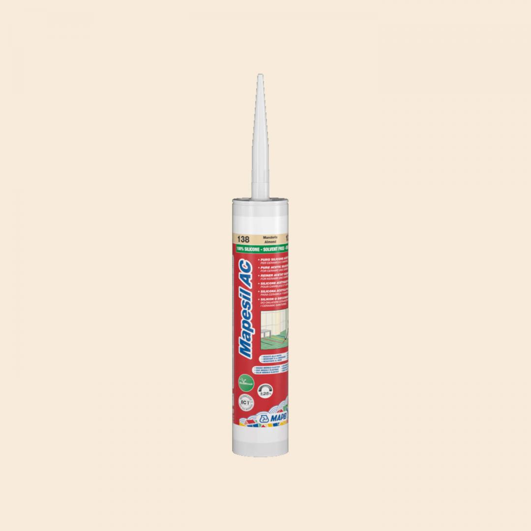 Mapei Silicone AC 130 310ml Jasmine