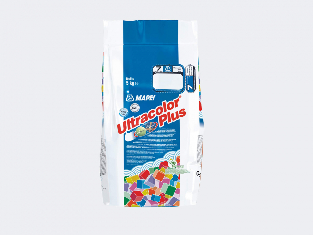 Mapei Grout Ultra Color Plus Alu 111 5kg Silver Grey