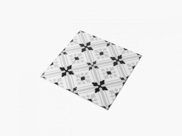 Modern Black & White 2625 200×200 Mat