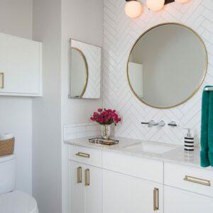 Ceramics Mould Tile 75X300 Gloss White