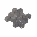 Natural Marble Mosaic Diamond Cube Pietra Grey