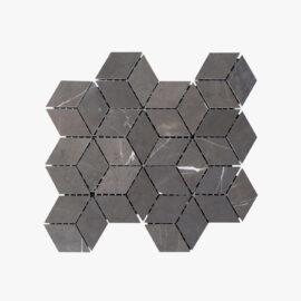 Natural Marble Mosaic Diamond Cube Pietra