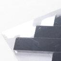 Natural Marble Mosaic Herringbone 50X165 Neromarquina Honed