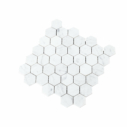 Natural Marble Mosaic Hexagon48x55 Carrara Honed