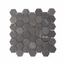 Natural Marble Mosaic Hexagon 48x55 Pietra Grey Honed