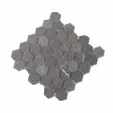 Natural Marble Mosaic Hexagon Pietra Grey