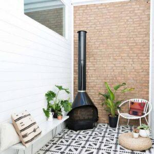 Pattern Tile Modern Black & White 21087 200X200 Matt