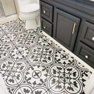 Pattern Tile Moden Black & White 2502 200X200 Matt