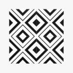 Pattern Tile Modern Black & White 2009_top