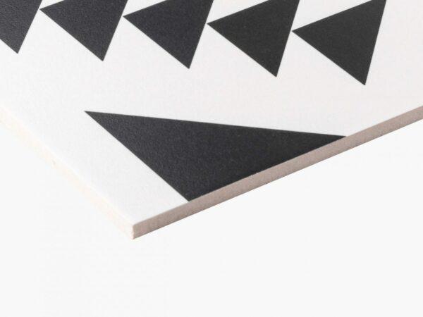 Pattern Tile Modern Black & White 21087
