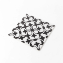 Pattern Tile Modern Black & White 2443 200X200 Matt