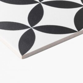 Pattern Tile Modern Black & White 2444