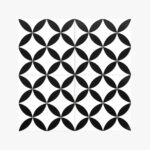 Pattern Tile Modern Black & White 2444_top