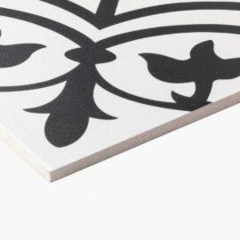 Pattern Tile Modern Black & White 2502