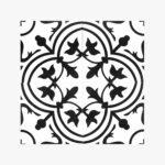 Pattern Tile Modern Black & White 2502_top