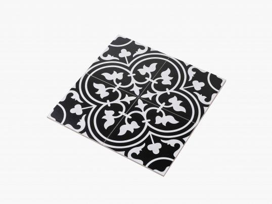 Pattern Tile Modern Black & White 2547 200×200 Matt_variation_eccom
