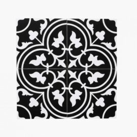 Pattern Tile Modern Black & White 2547