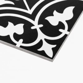 Pattern Tile Modern Black & White 2547 200x200 Matt