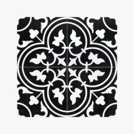 Pattern Tile Modern Black & White 2547_top