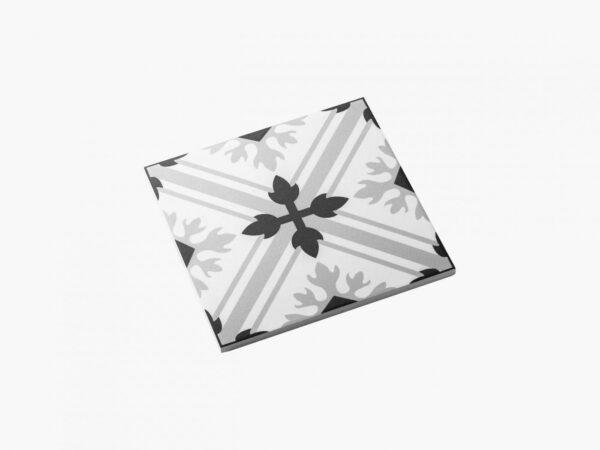 Pattern Tile Modern Black & White 2625