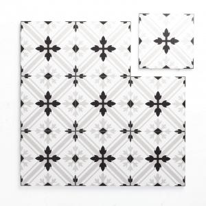 Pattern Tile Moden Black & White 2625 200X200 Matt